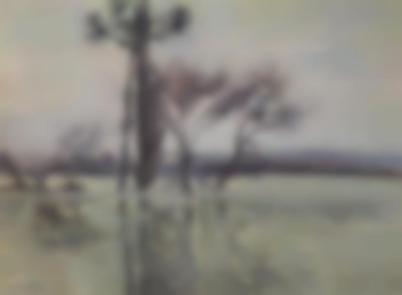 Gustave Loiseau-La Pointe De Lile Submergee-1910