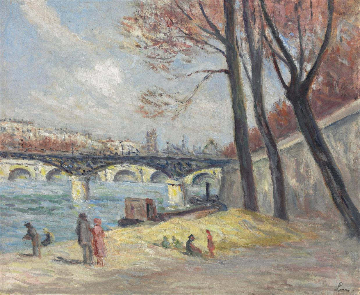 Maximilien Luce-Le Pont Des Arts-1930