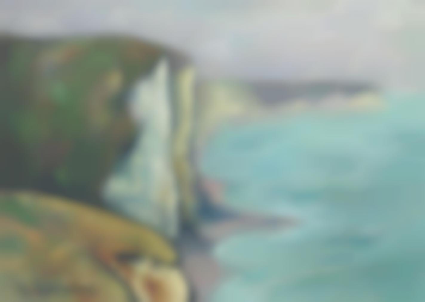 Gustave Loiseau-Les Falaises (Normandie)-