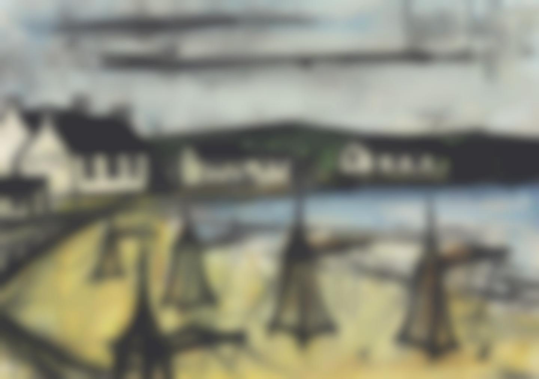 Bernard Buffet-Paysage De Bretagne-1961