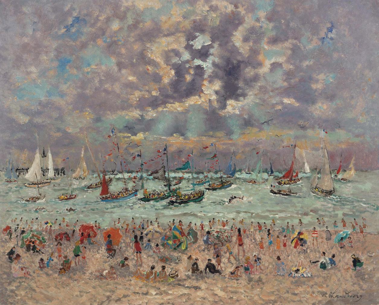 Andre Hambourg-La Fete De La Mer-1966