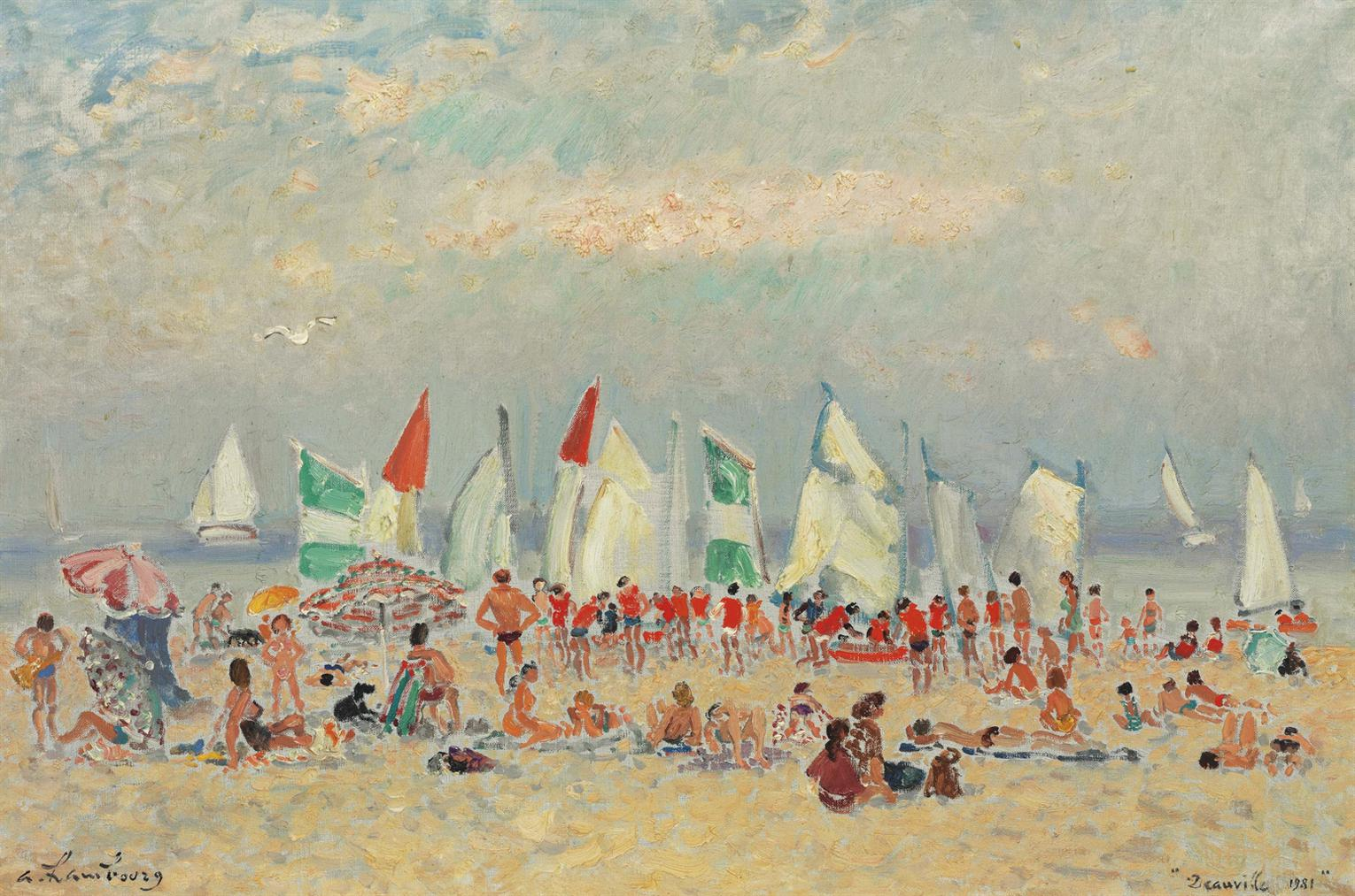 Andre Hambourg-Lete A Deauville-1981