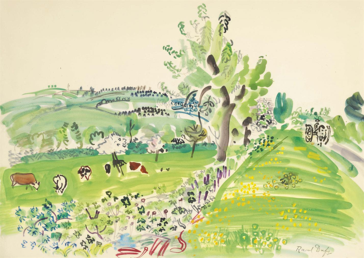 Raoul Dufy-Printemps Normand-1929