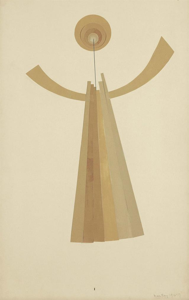 Man Ray-Revolving Doors I: The Mime-1917