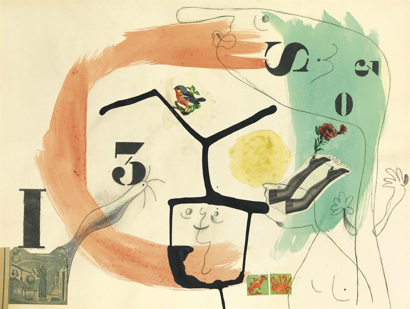 Joan Miro-Metamorphoses-1936