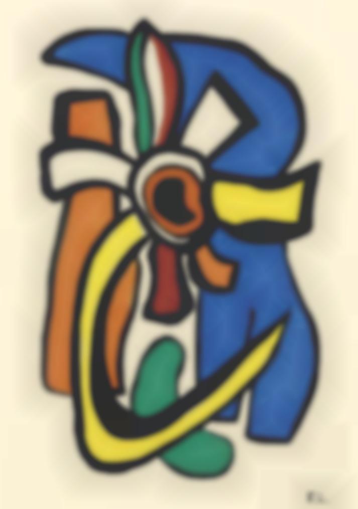 Fernand Leger-Composition Murale-1952