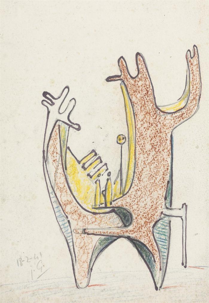 Julio Gonzalez-Humour Et Massivite-1941