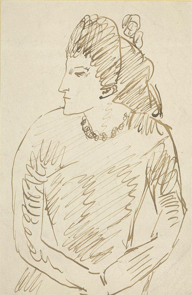 Pablo Picasso-Buste De Femme-1902