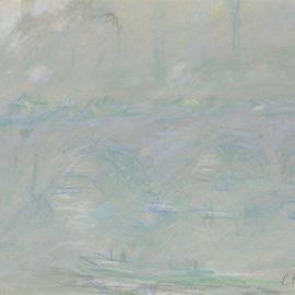 Claude Monet-Waterloo Bridge-1901