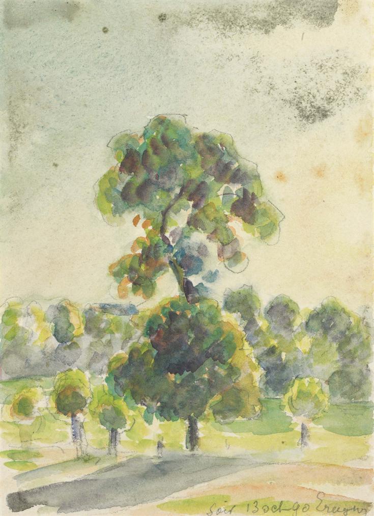Camille Pissarro-Eragny, Le Soir-1890