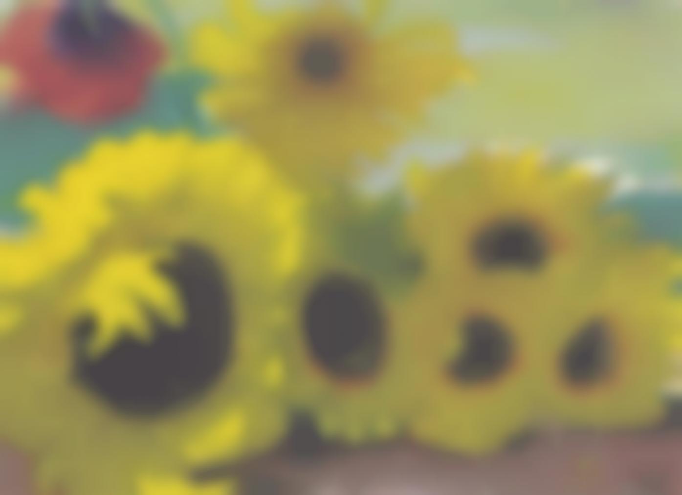 Emil Nolde-Sonnenblumen Und Eine Rote Mohnblute-1935