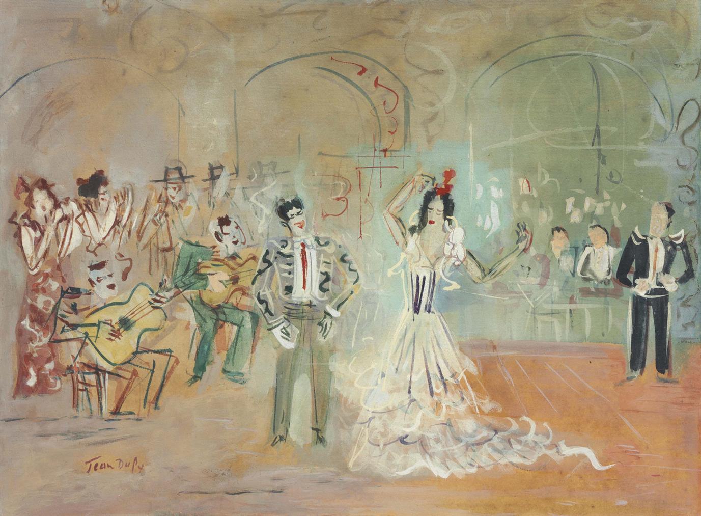 Jean Dufy-Landalouse-1955