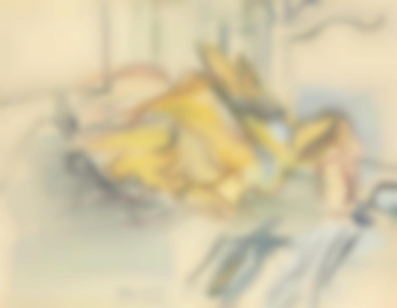 Raoul Dufy-Nature Morte A La Dinde-