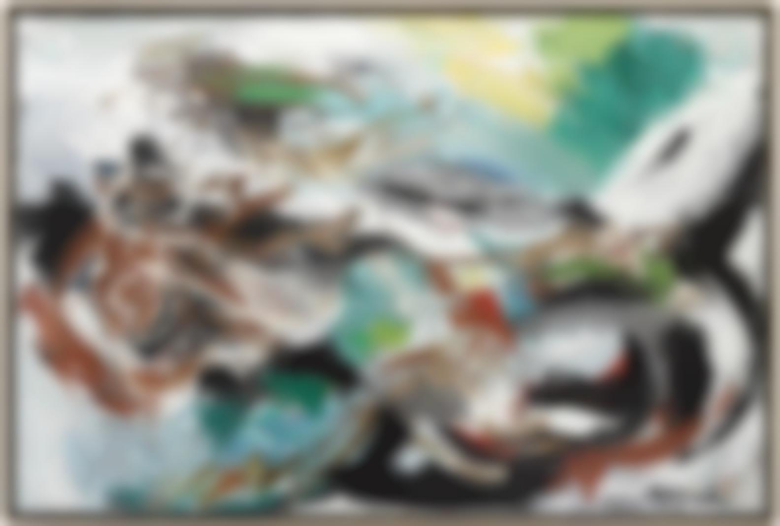 Karel Appel-Paysage Avec Squelette-1960