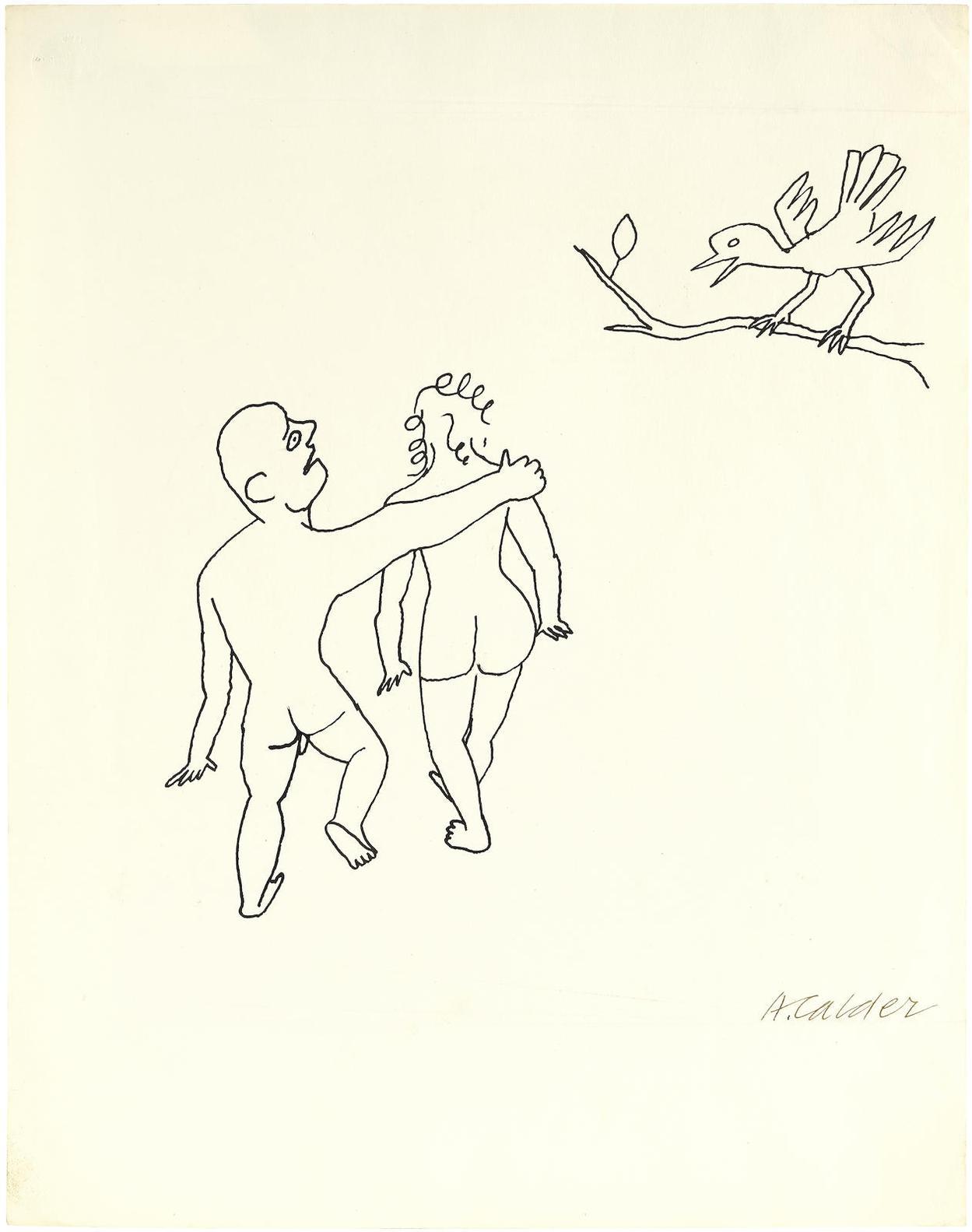 Alexander Calder-Le Coucou-1955