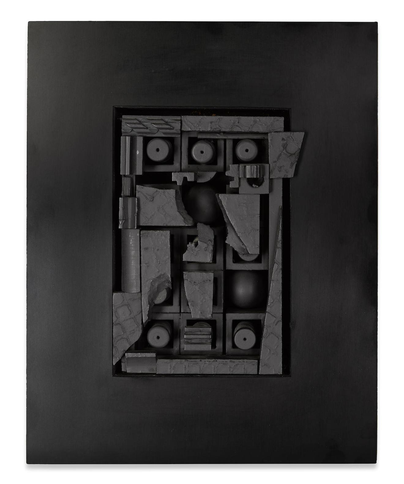 Louise Nevelson-City-Space-Scape XVIII-1968