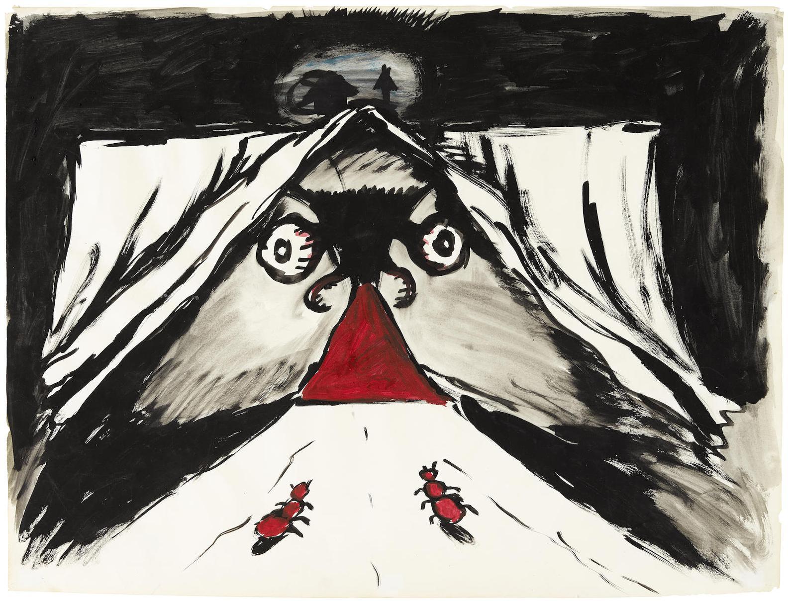 Mike Kelley-From Monkey Island (La Femme Fatale)-1982
