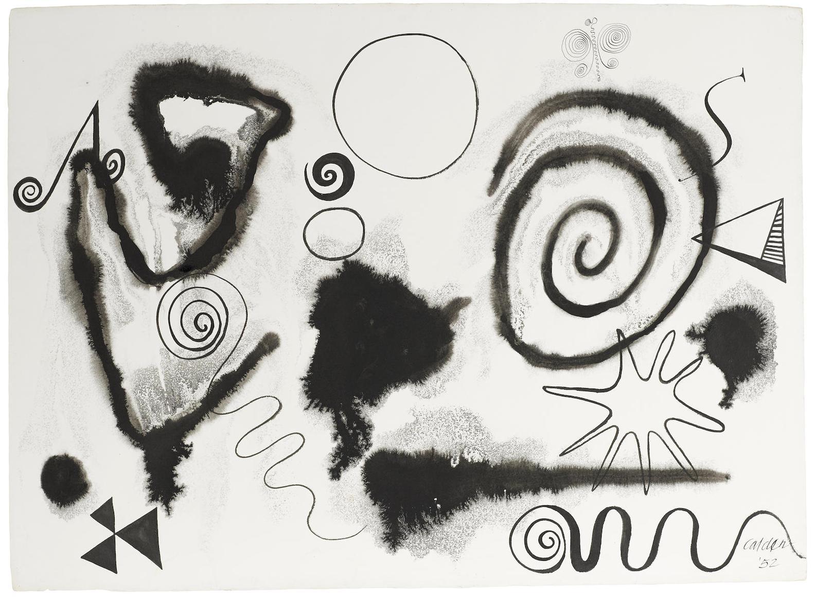 Alexander Calder-Aqueous-1952