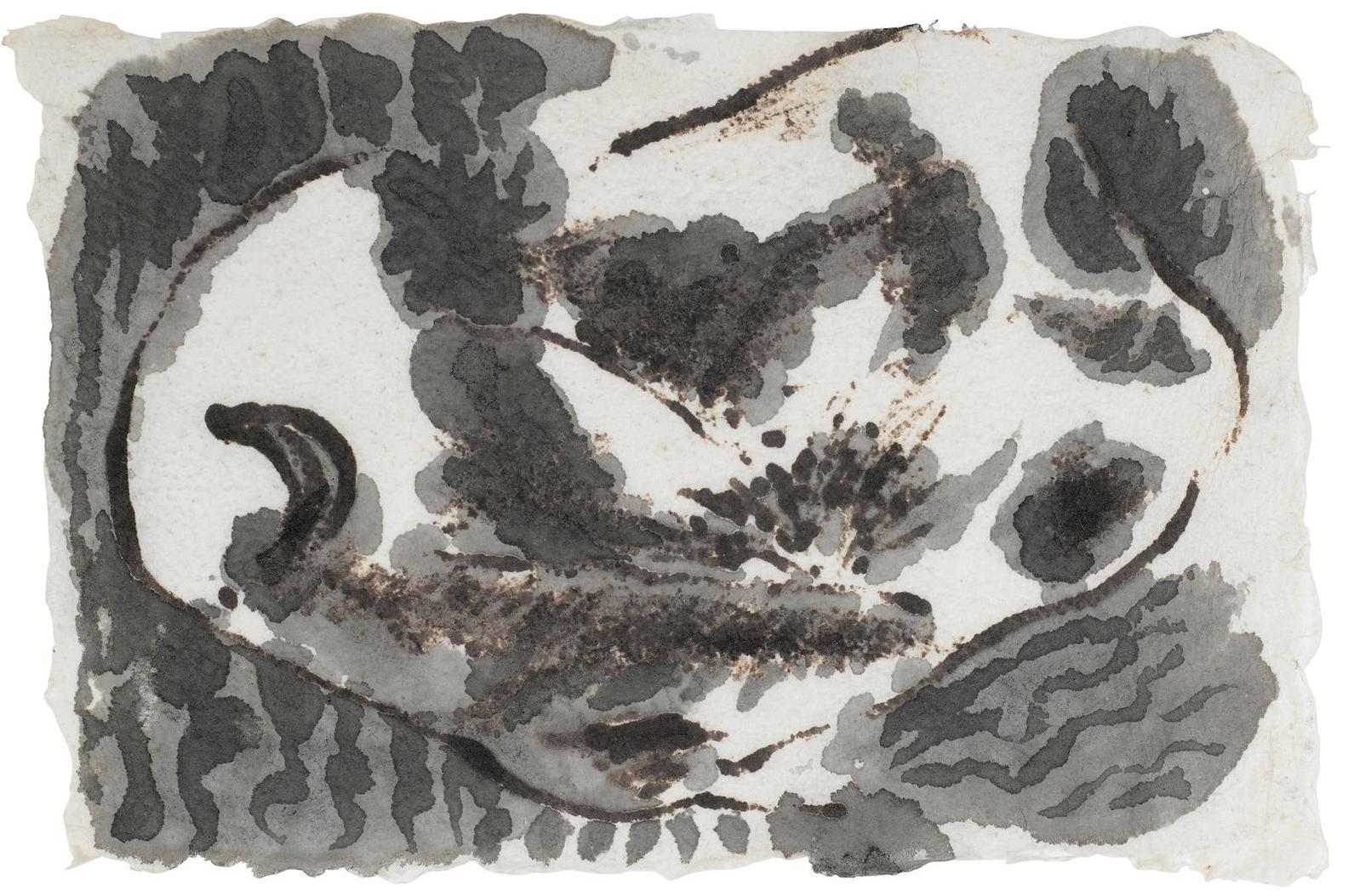 Jackson Pollock-Untitled (Drawing)-1956