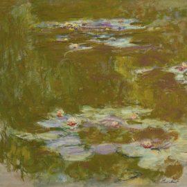 Claude Monet-Le Bassin Aux Nympheas-1920