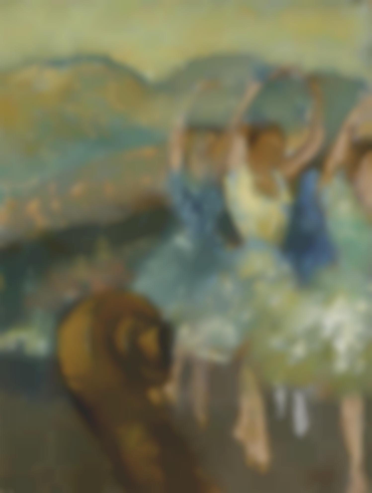 Edgar Degas-Le Ballet-1891