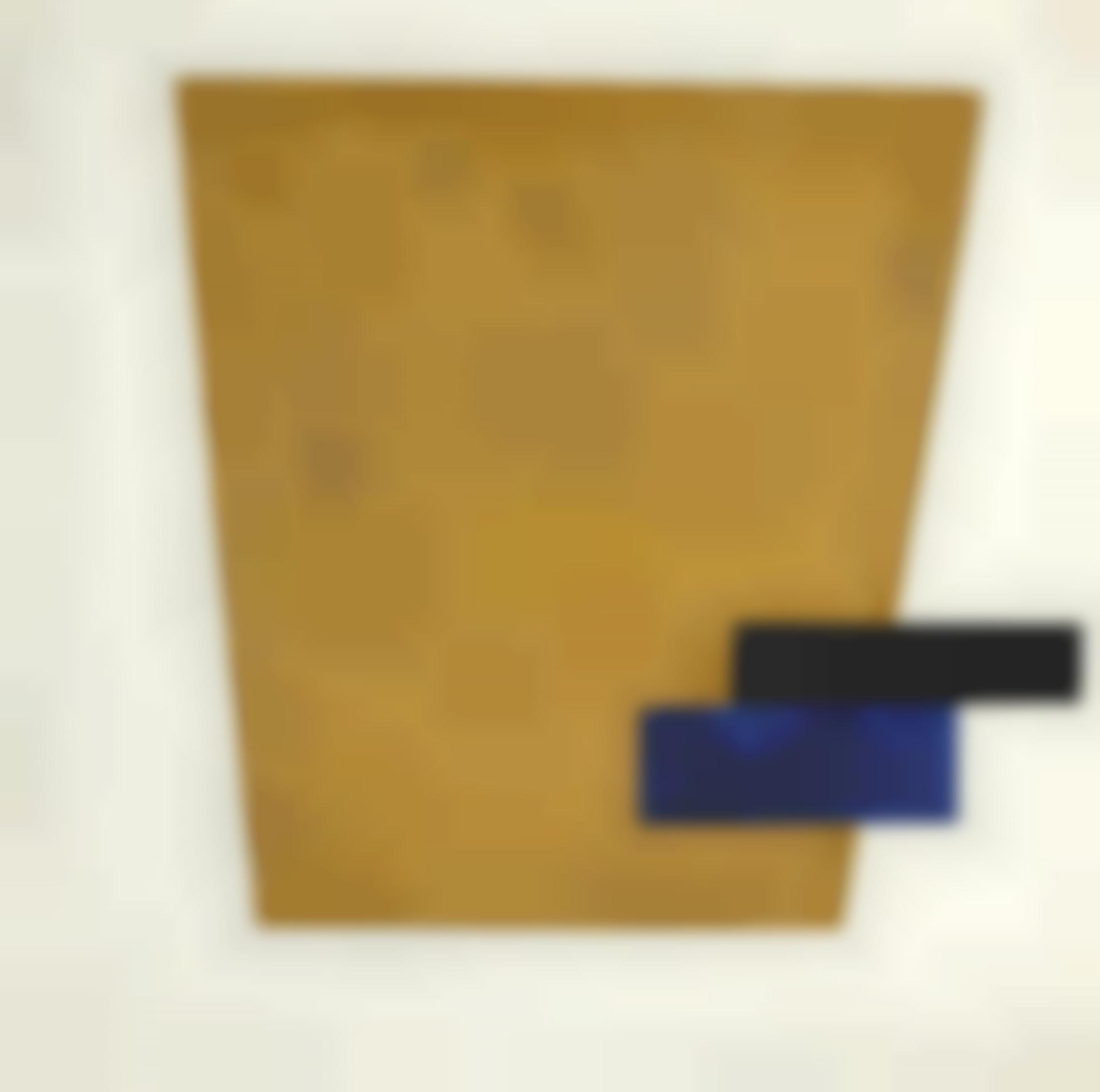 Kazimir Malevich-Suprematist Composition With Plane In Projection-1915