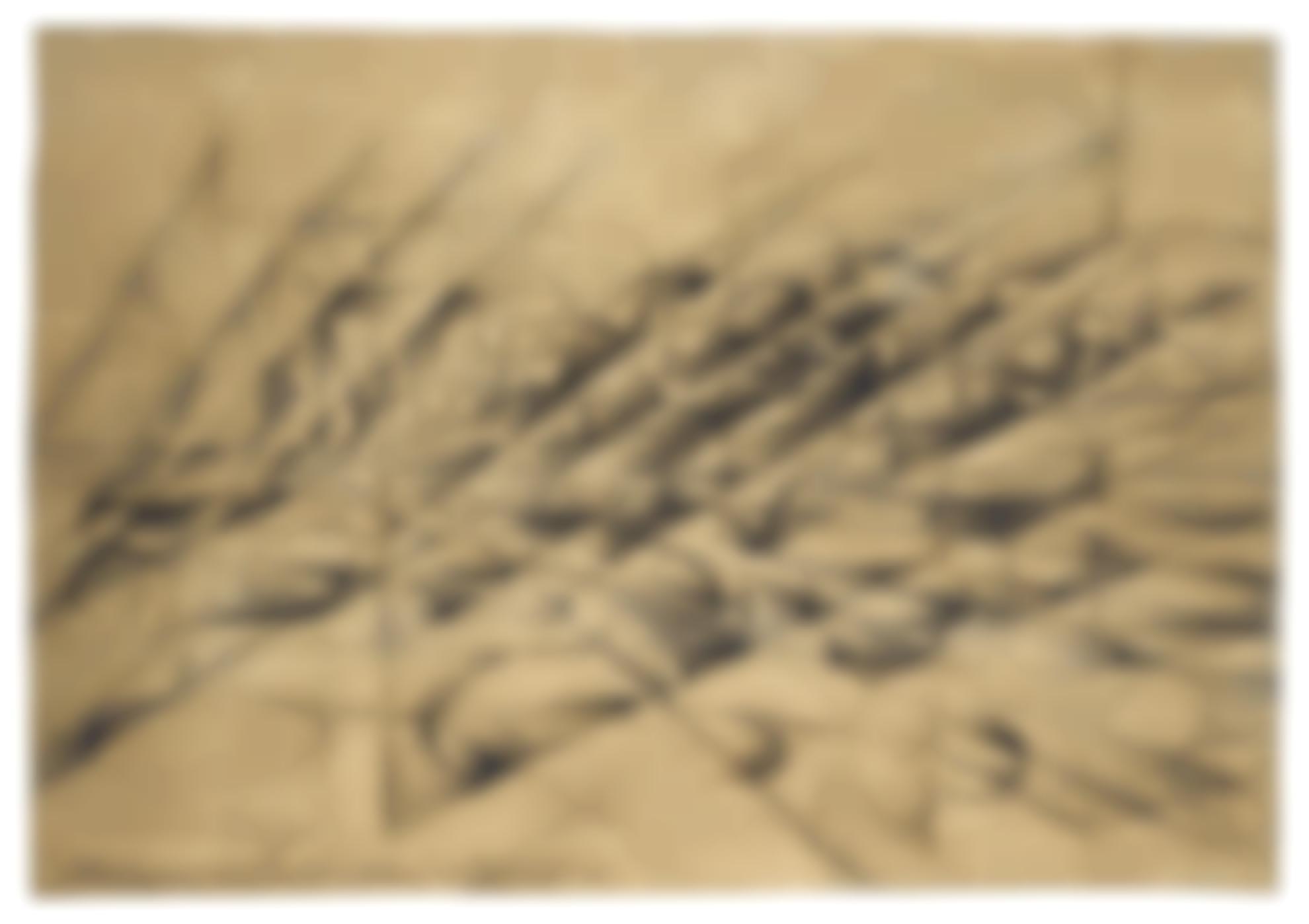Giacomo Balla-Disgregazione X Velocita, Penetrazione Dinamiche Dautomobile-1913