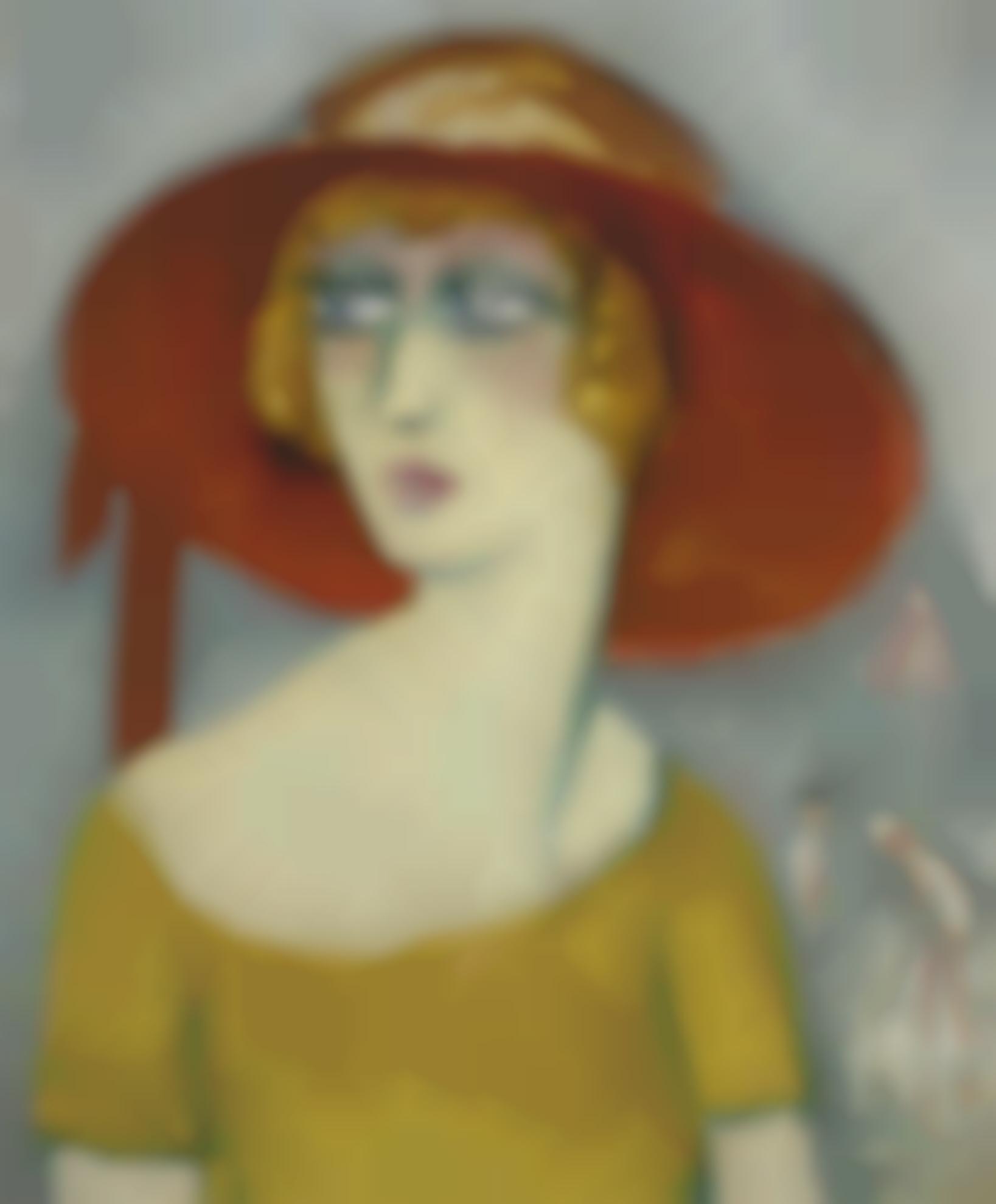 Kees van Dongen-Portrait Dalicia Alanova-1920
