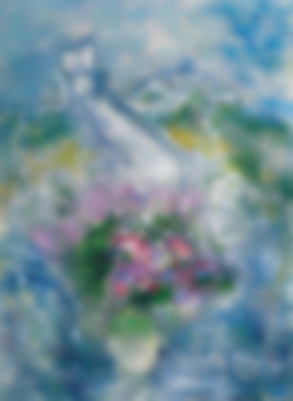 Marc Chagall-Les Fleurs De Vence-1980