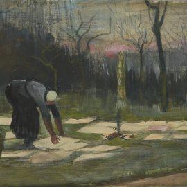 Vincent van Gogh-The Laundress-1882