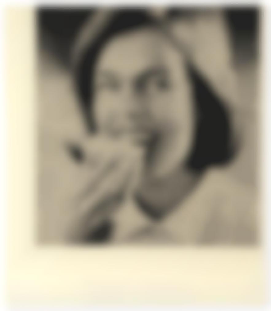Sigmar Polke-Frau Mit Butterbrot-1964