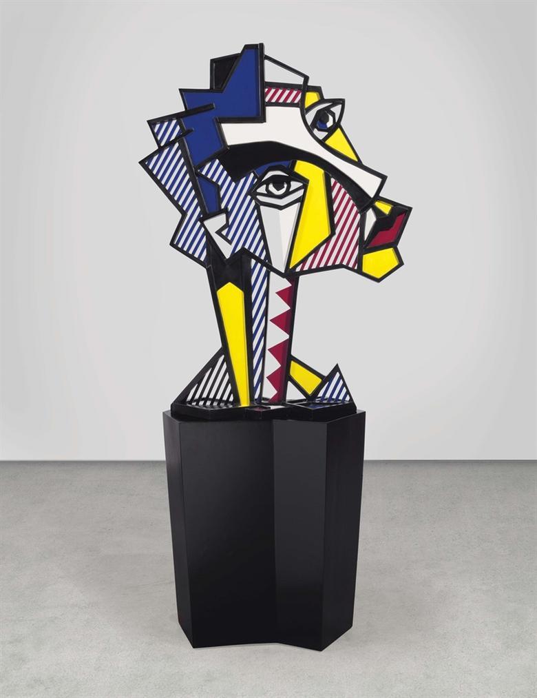 Roy Lichtenstein-Expressionist Head-1980