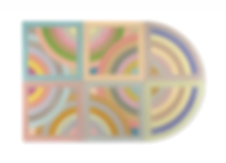 Frank Stella-Gur Variation II-1968