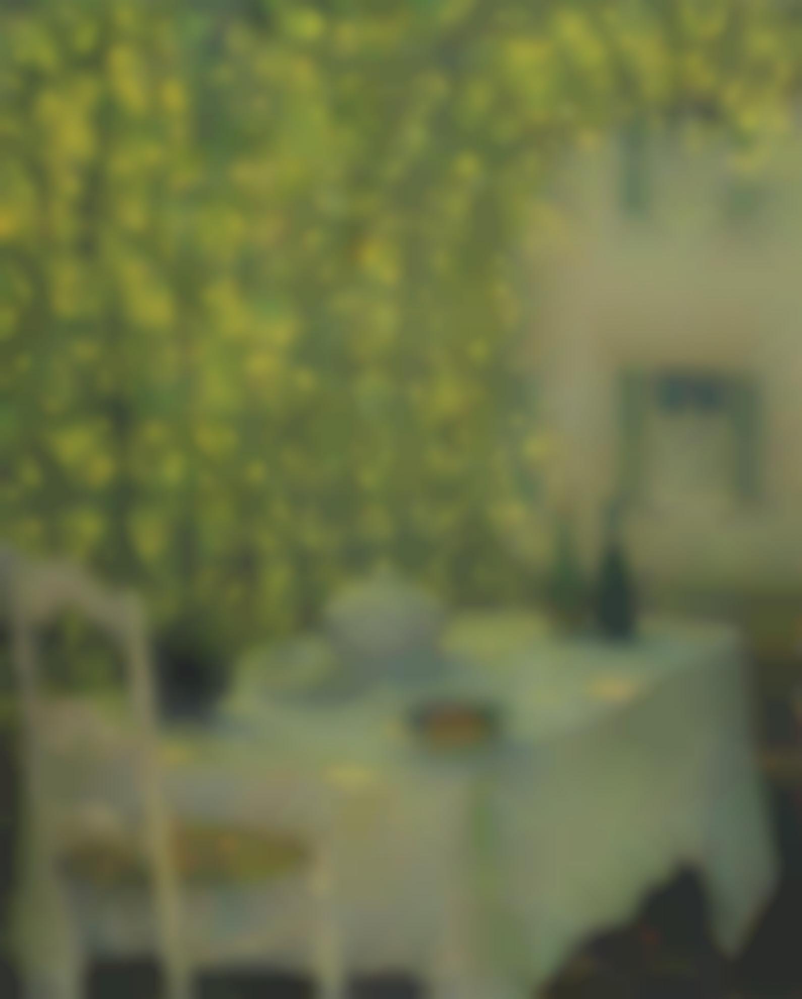 Henri Eugene Le Sidaner-La Table Villageoise, Gerberoy-1928