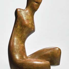 Alexander Archipenko-Seated Figure-1936