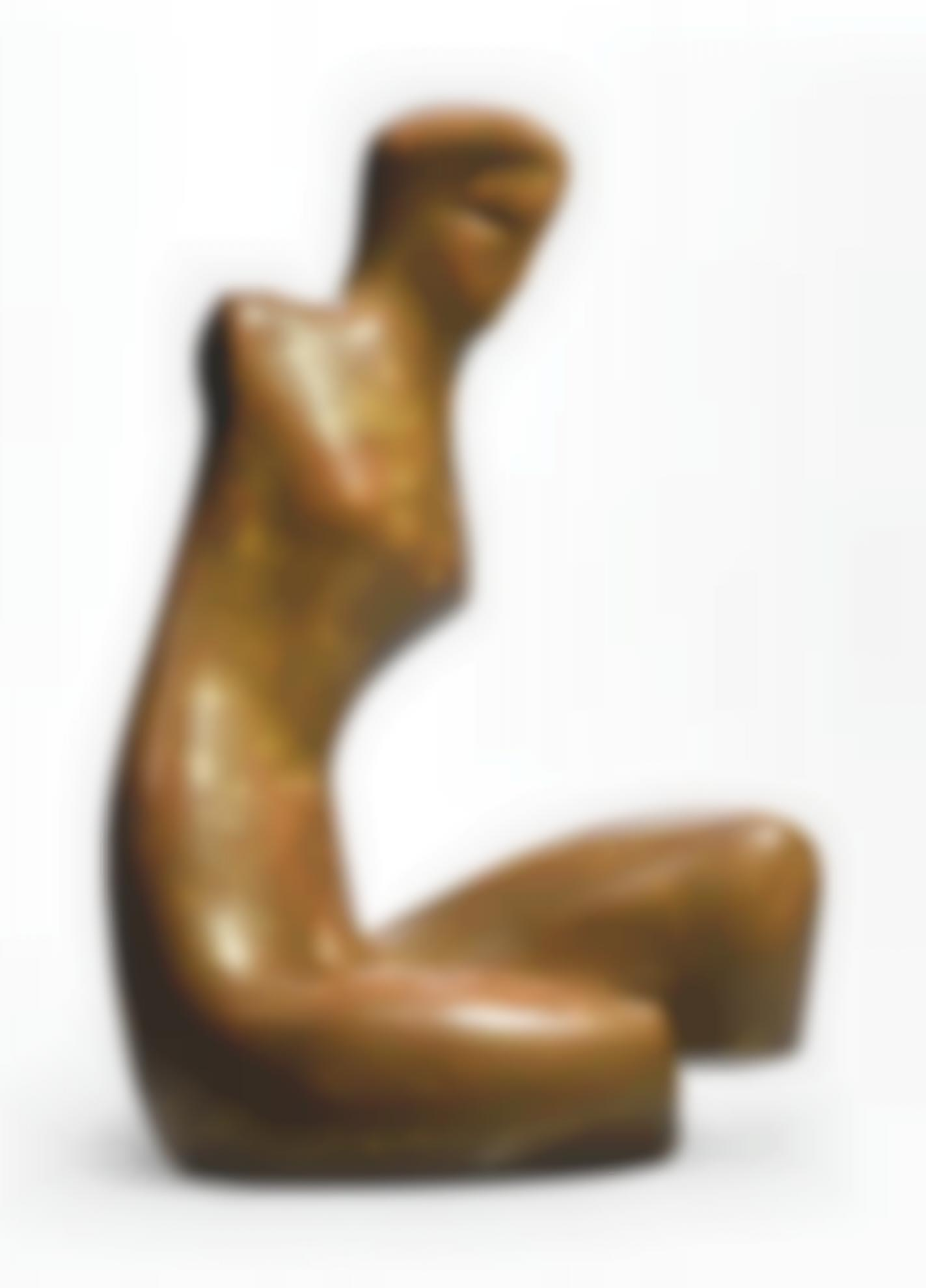 Alexander Archipenko-Seated Figure-1936