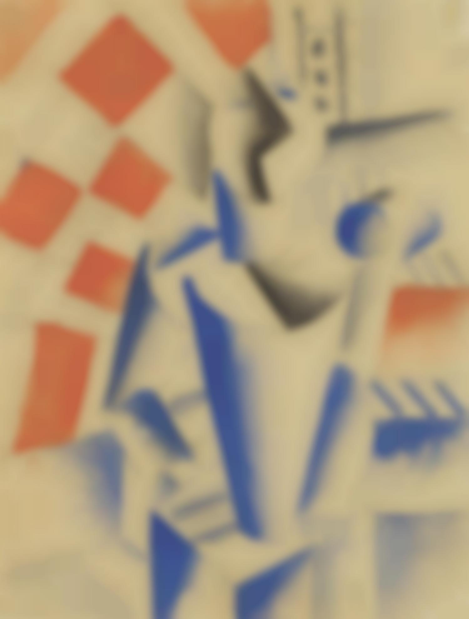 Fernand Leger-Personnage-1917