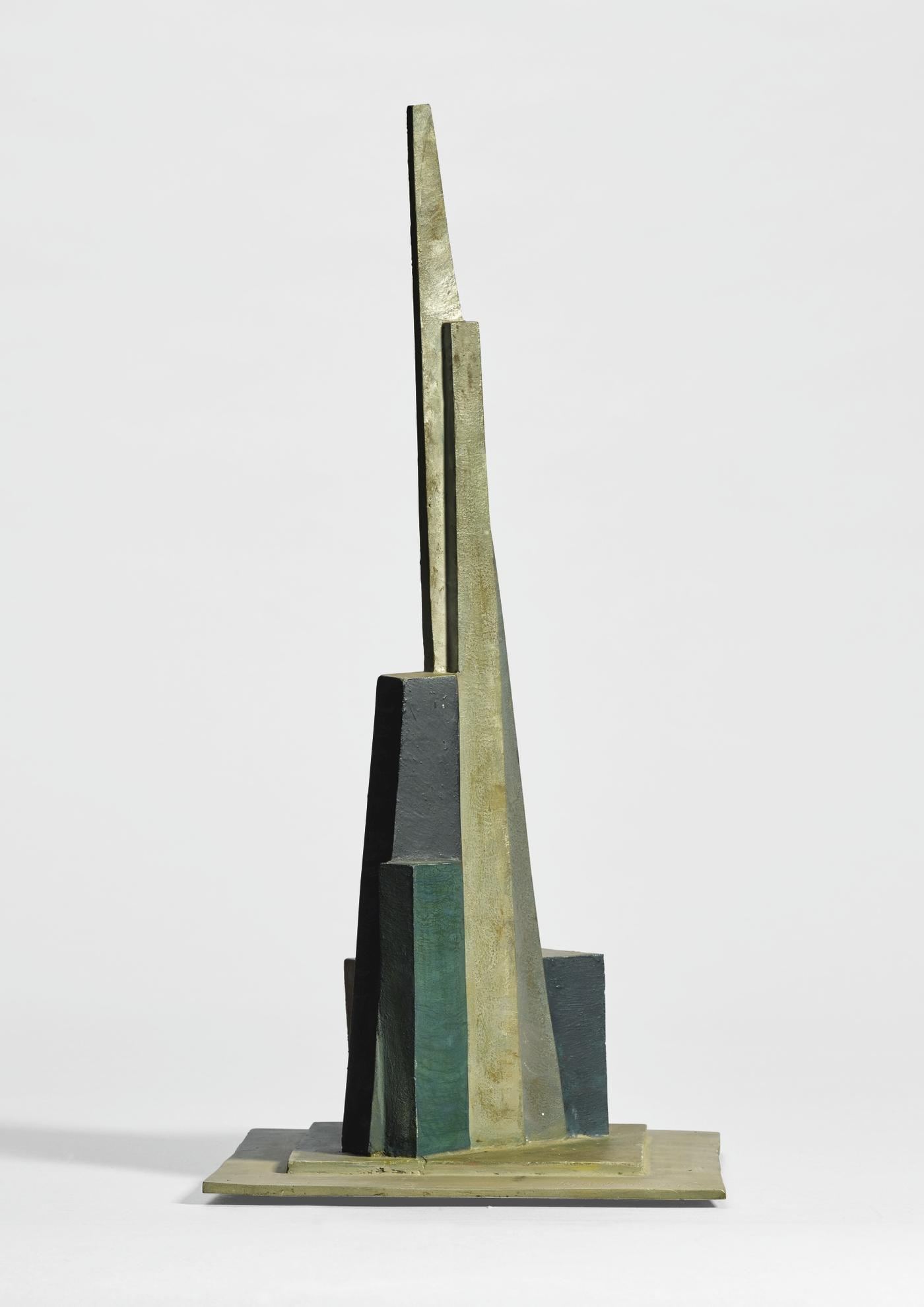 Kurt Schwitters-Ohne Titel (Kathedrale) (Untitled (Cathedral))-1983