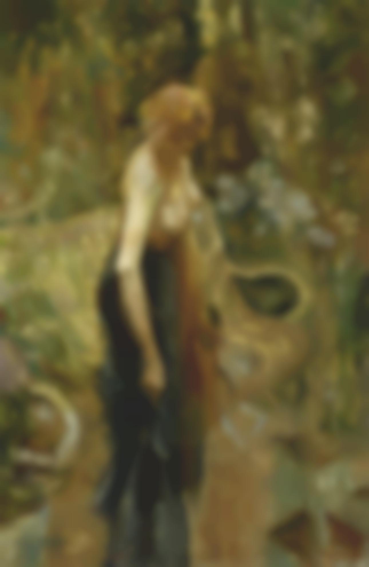 Rene Magritte-Femme Debout-1917
