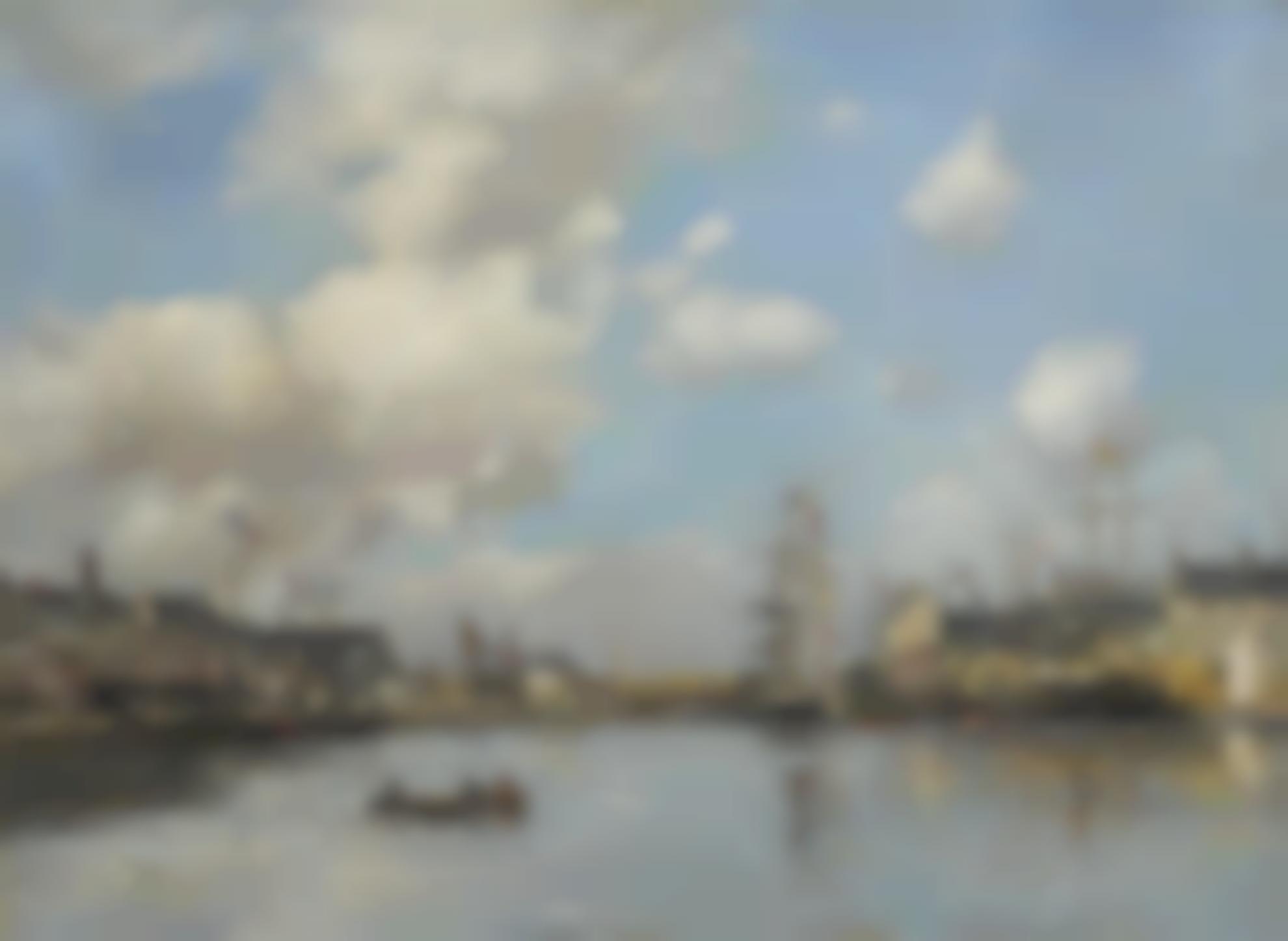 Eugene Louis Boudin-Fecamp, Le Bassin-1892