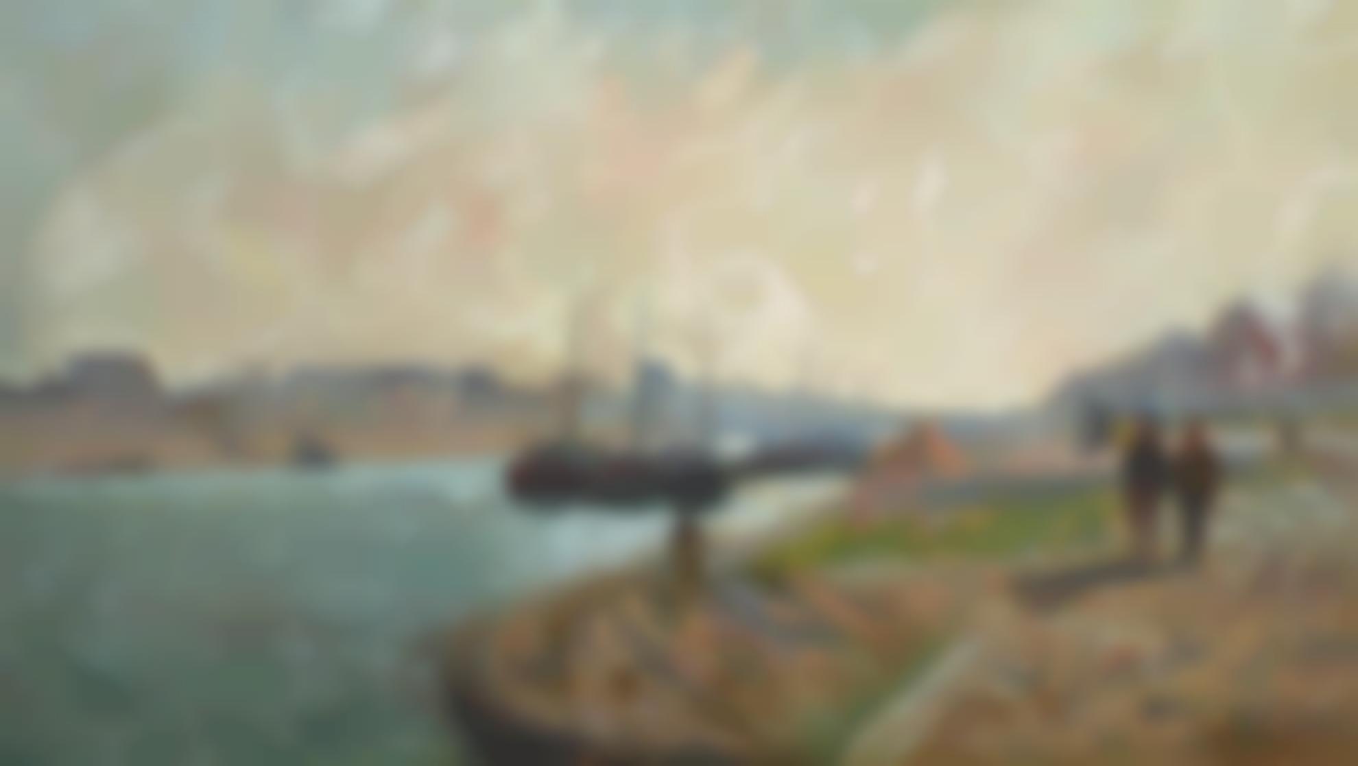 Jean-Baptiste Armand Guillaumin-Berges De La Seine A Paris-1880