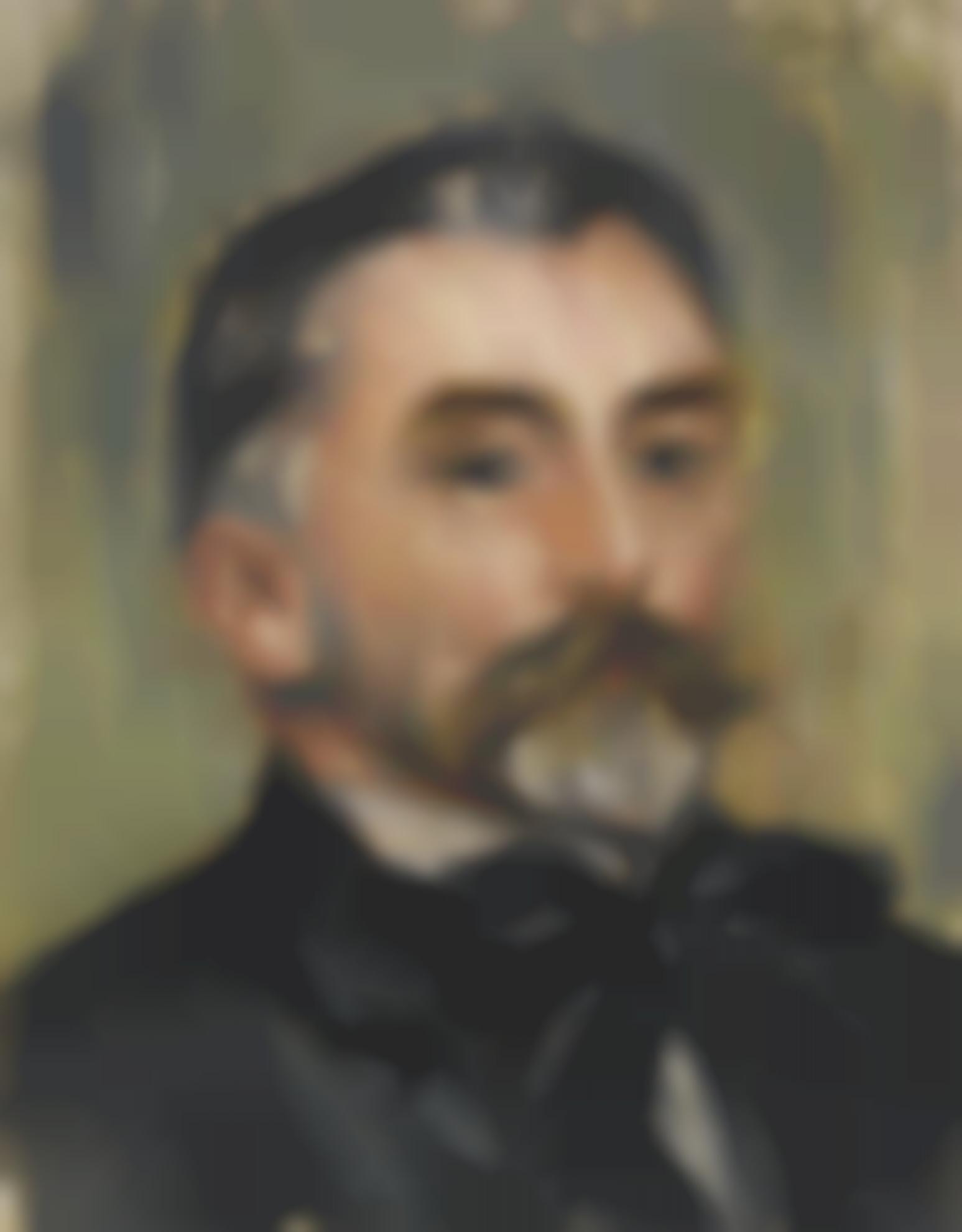Pierre-Auguste Renoir-Portrait De Stephane Mallarme-1892