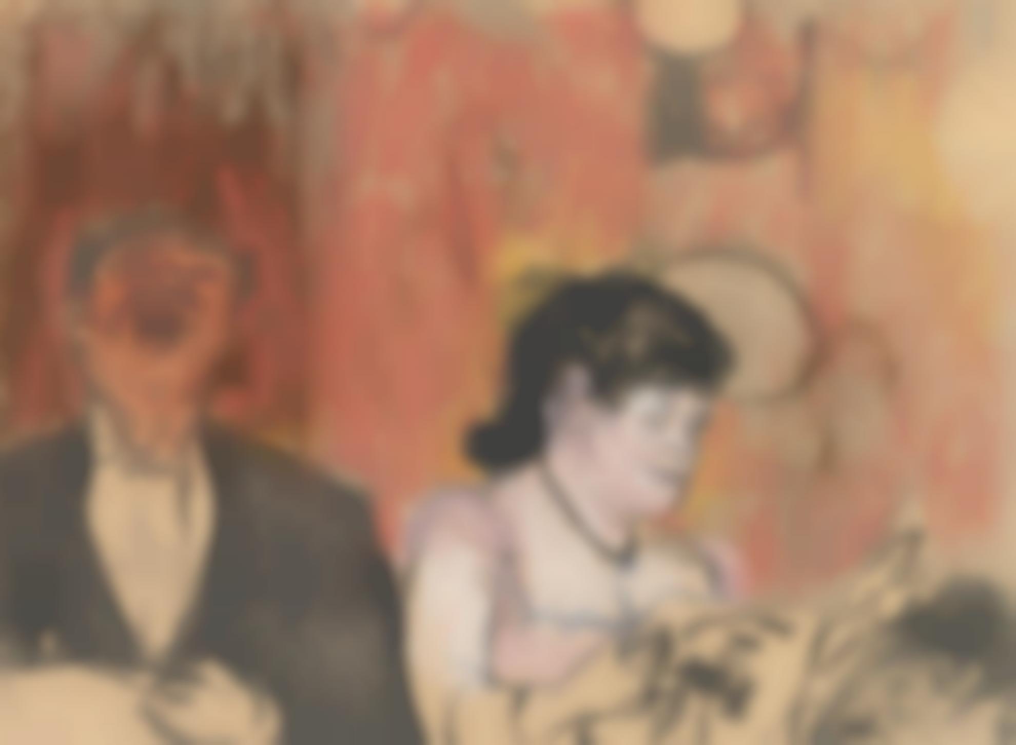 Edgar Degas-Le Duo-1879