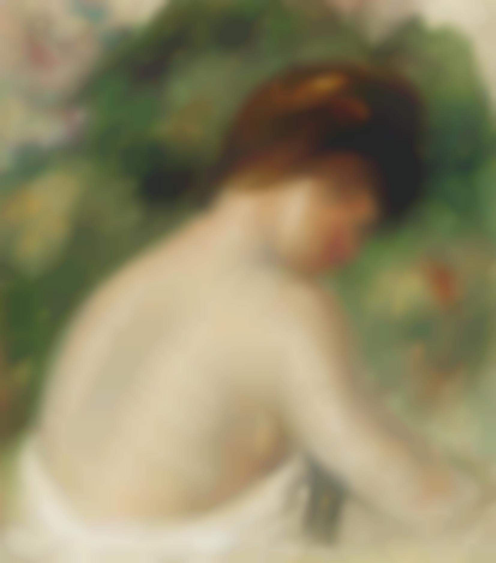 Pierre-Auguste Renoir-Buste De Femme Nue-1912