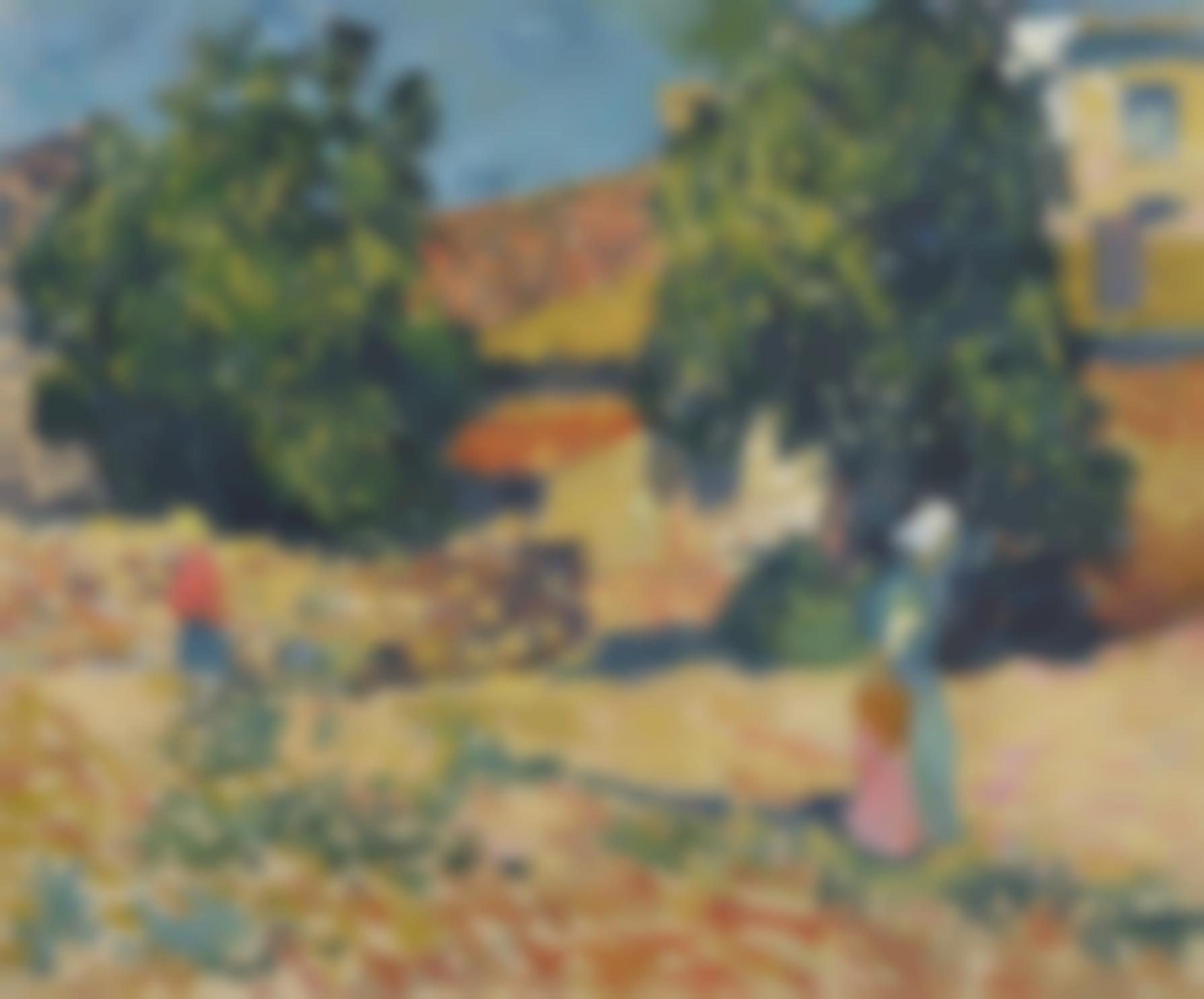 Louis Valtat-La Ferme, Espagne-1896