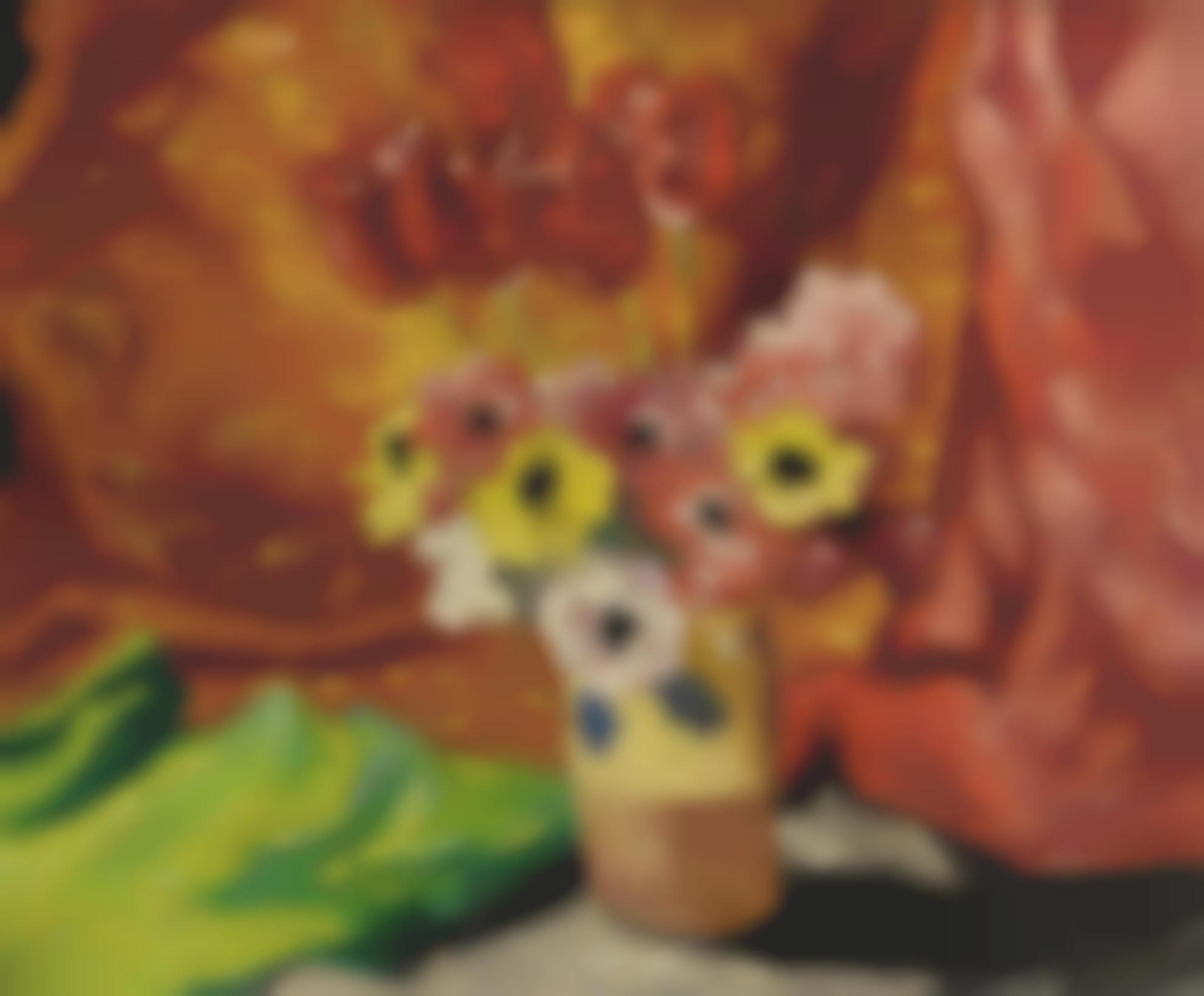 Louis Valtat-Vase De Fleurs-