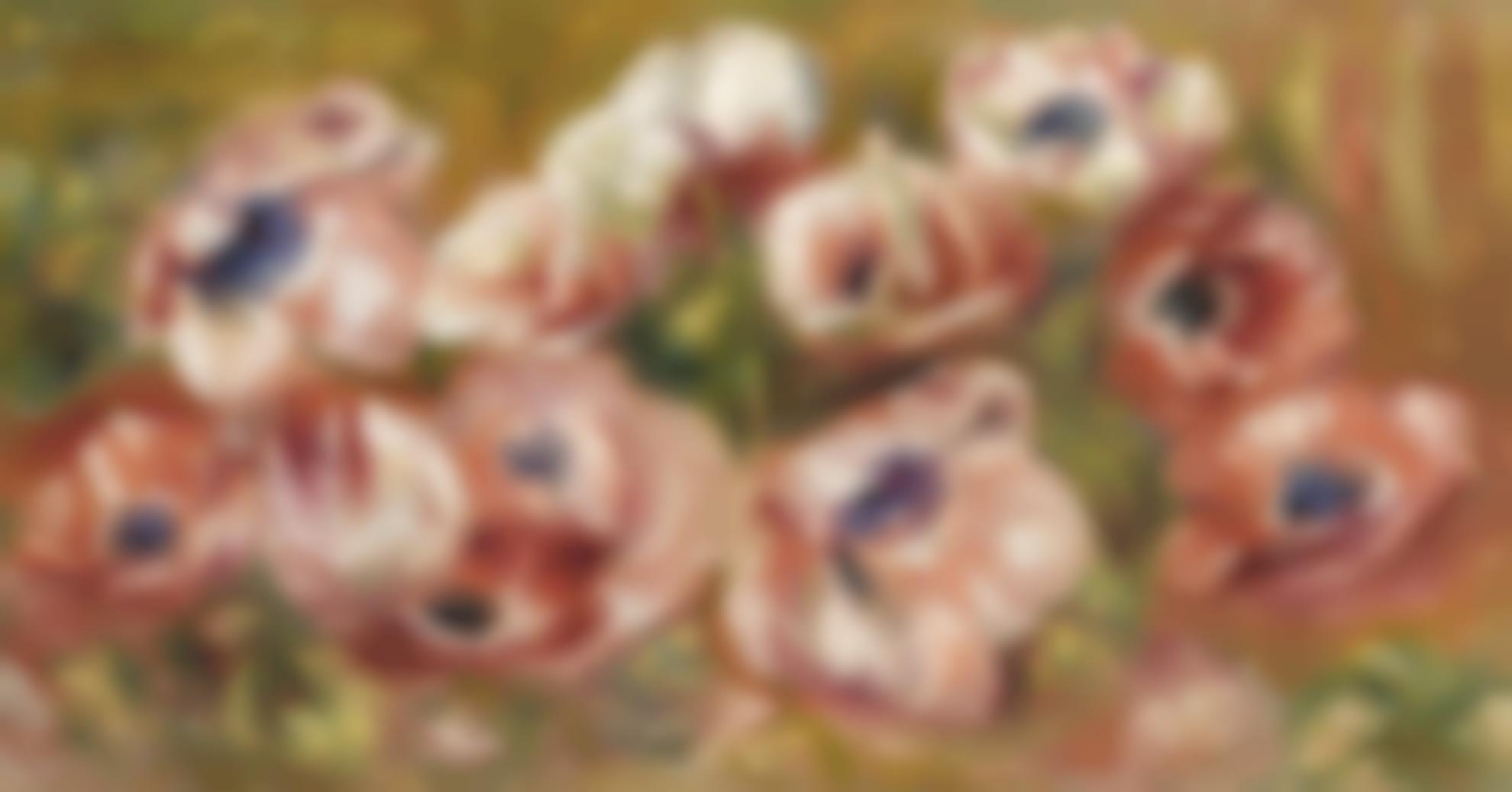 Pierre-Auguste Renoir-Anemones-