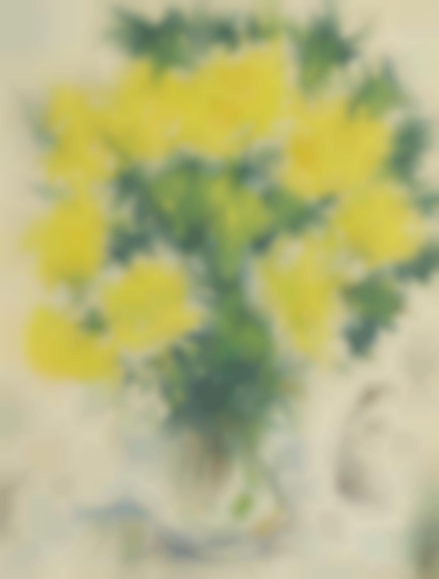 Marc Chagall-Vase De Fleurs-1940