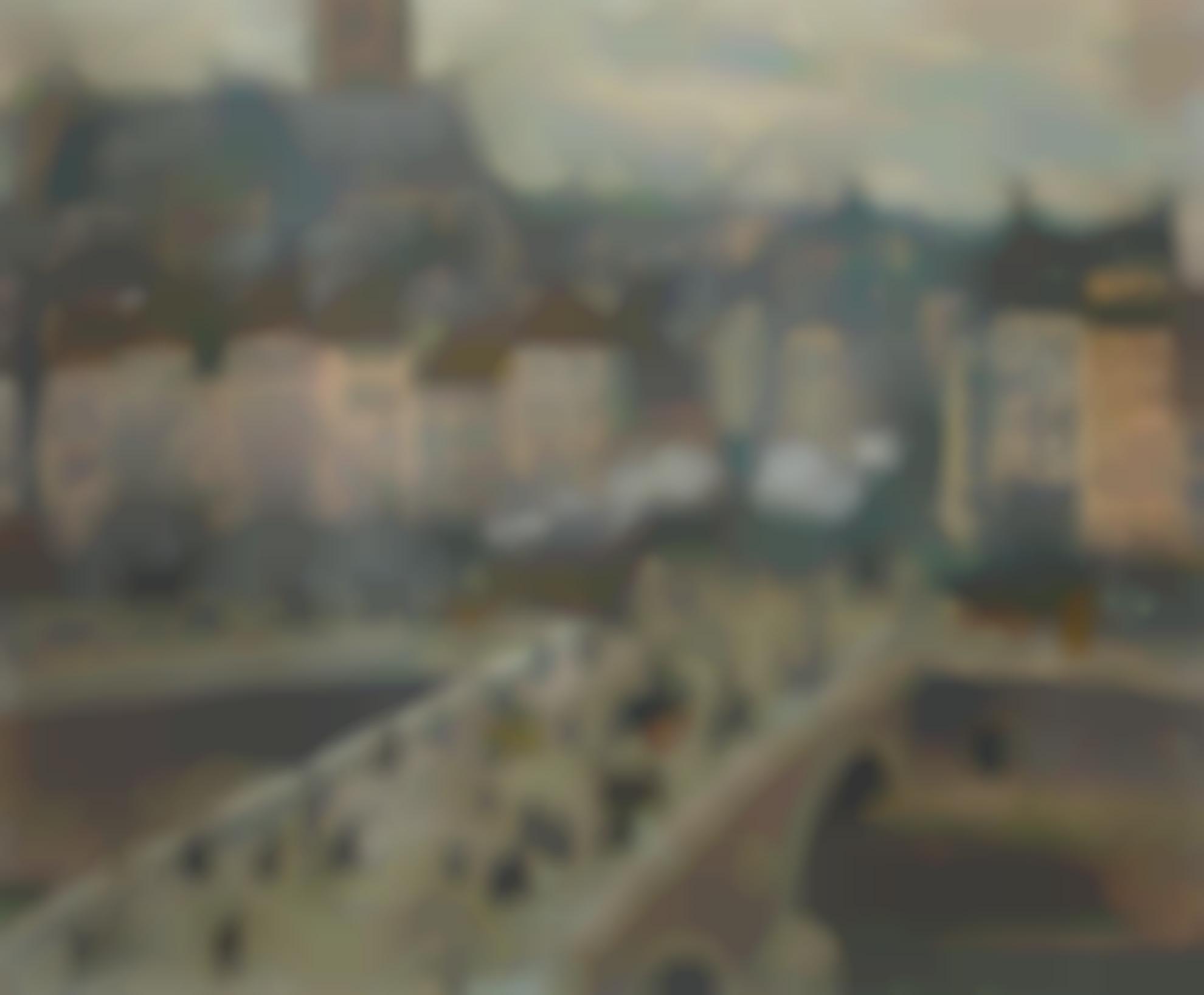 Raoul Dufy-Pont Sur La Seine-1904
