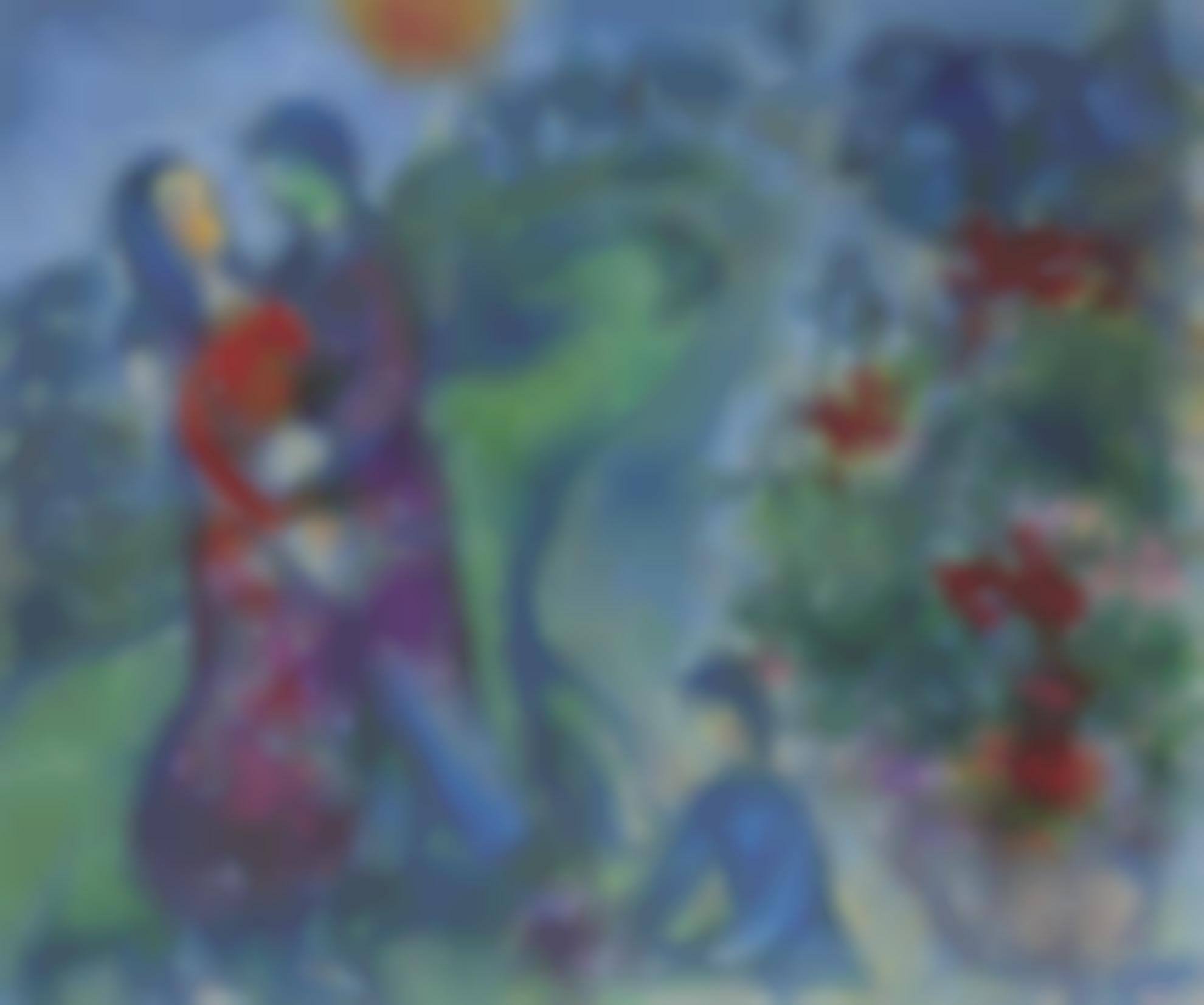 Marc Chagall-Le Printemps-1975